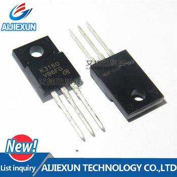 10 Uds 2SK3160 K3160 TO-220F silicio N Canal MOS FET conmutación de potencia de alta velocidad en stock 100% nuevo y original