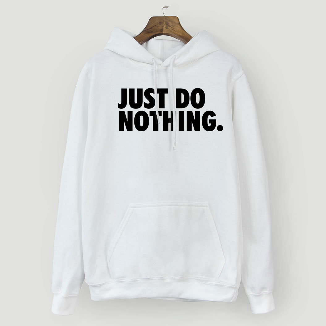 JUST DO NOTHING Letter Sweatshirt For Women 2018 Autumn Winter Hooded Pullovers Hip Hop Streetwear Women's Hoodies Kpop Hoody