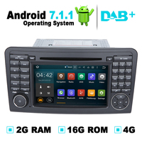 Android 7 1 Car DVD Player Stereo Media GPS Navigation For Mercedes ML W164 For Mercedes