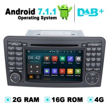 Android 7.1 Car DVD Player Stereo Media GPS Navigation for Mercedes ML W164,For Mercedes Benz GL320 GL350 GL420 GL450 GL500 X164