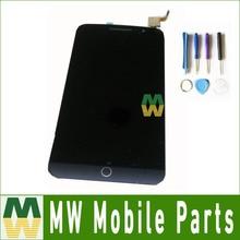 Noir couleur 1 pc/lot lcd display + assemblée d'écran tactile pour alcatel one touch pop 2 premium 7044 ot7044 avec outils