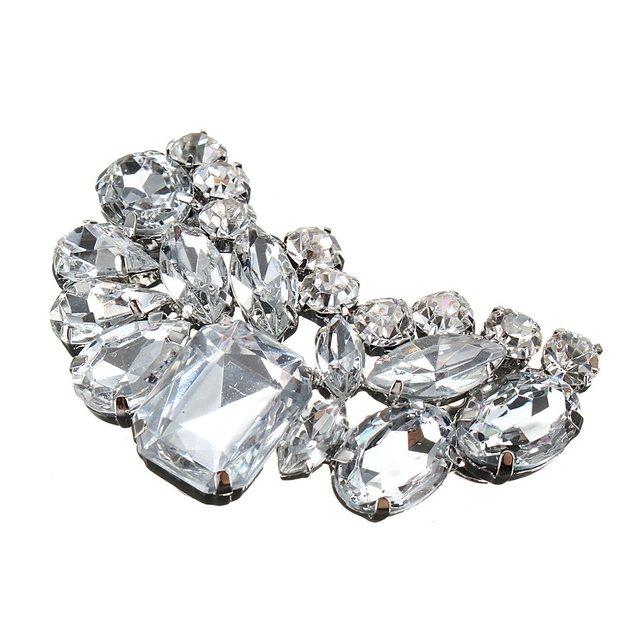 4f05129c977e2 1 قطعة الزفاف الزفاف الأحذية مقاطع الزخرفية متجر إكسسوارات أحذية حذاء كليب  الكريستال حجر الراين سحر