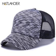 HATLANDER  ajustable rayas gorras de béisbol para hombres y mujeres verano  sol sombrero de eba64bb9a0c