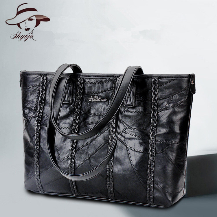 New Fashion Hot Sale Famous Brand Genuine Leather Women Handbag Vintage Messenger Tote Girls Crossbody Shoulder Bags Trend Bag women vintage trend genuine leather embossed tote bag casual crossbody messenger shoulder bags famous brand cowhide handbag