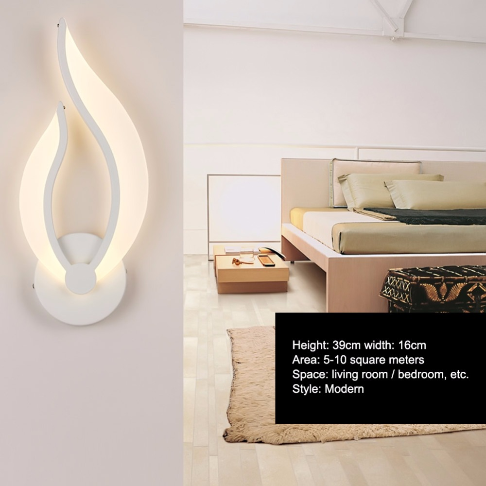 Contracted Modern LED Wall Lamp Sconces Reading Lights Fixture ...