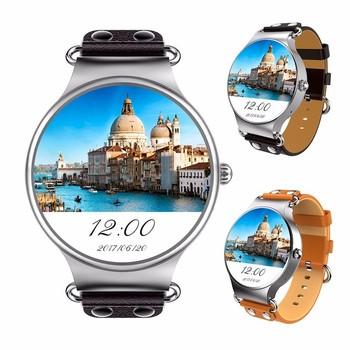 KW98 Smartwatch Android 8GB Health Heart Rate Sports Tracker GPS Bluetooth Wifi 3G SIM Card Smart Watch Phone for Men Women rockspace eb30