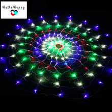 1.5M X 1.5M 160 LEDs Christmas Lights Outdoor Net Lighting Icicle String Light Xmas Decoration Waterproof EU Plug 220V Colorful