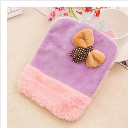 Hot water bottle small water velvet warm blanket mini - plush warm water pvc explosion - proof hand - warm warm water bag hot water bottle warm hand po warm bao water filling small mini cute thick pvc explosion proof