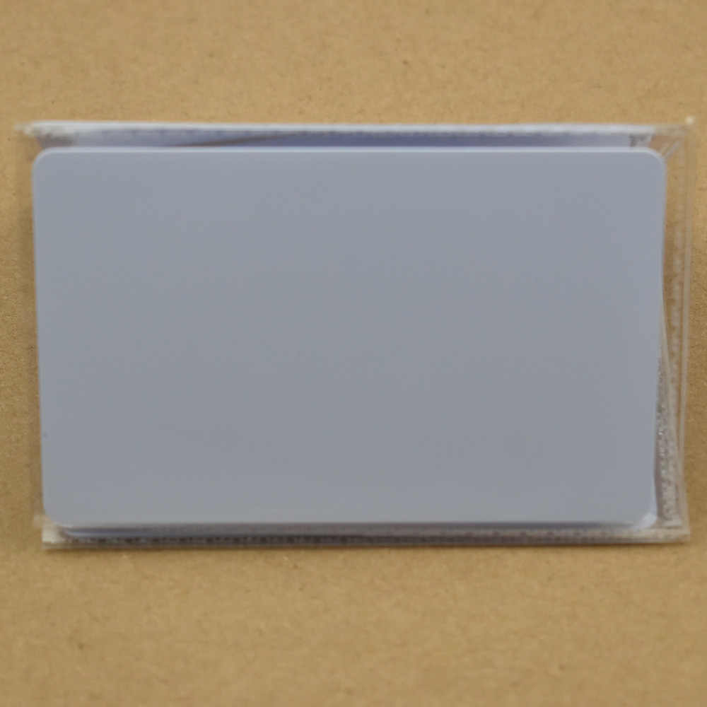 1 stks/partij NFC Tag Ntag215 504 Bytes ISO14443A PVC Witte Kaarten Voor Android, IOS NFC Telefoons