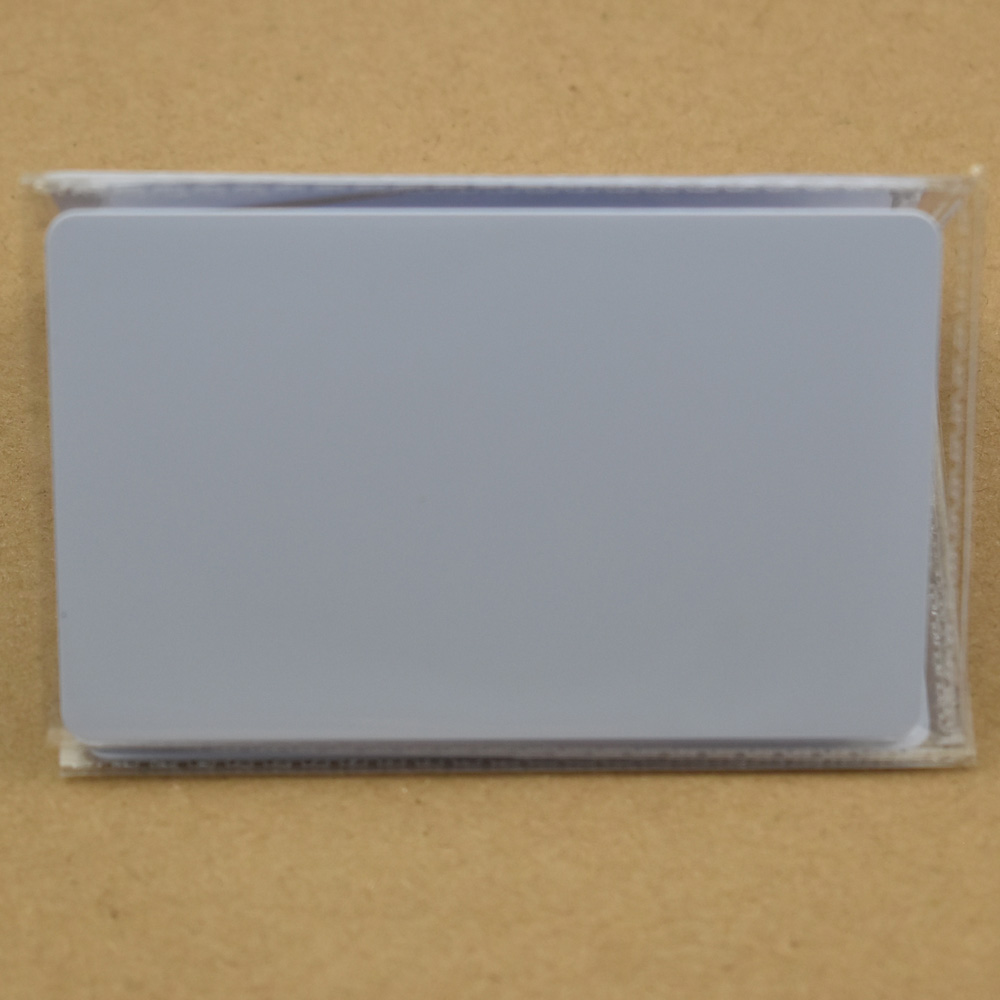 1pcs/lot NFC Tag Ntag215 504 Bytes ISO14443A PVC White Cards For Android,IOS NFC Phones