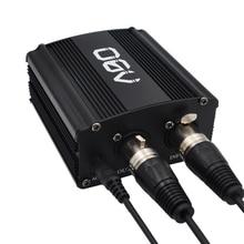 48 В Phantom Питание с адаптером, Bonus + XLR 2 м Булавки микрофонный кабель для любого конденсаторный микрофон музыка Запись оборудования