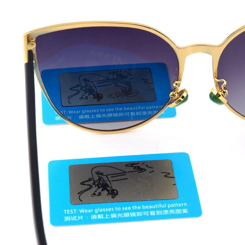 c6f0d5f0bf6a4 100 pcs TAC Lente Polarizada Cartão de Teste Cartão de Teste para ...