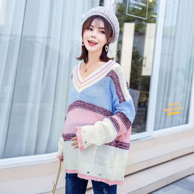 a89fe3ff622ac Autumn winter maternity clothing fashion Maternity Sweater Dress Pregnancy  wear loose knit pregnant women sweater coat