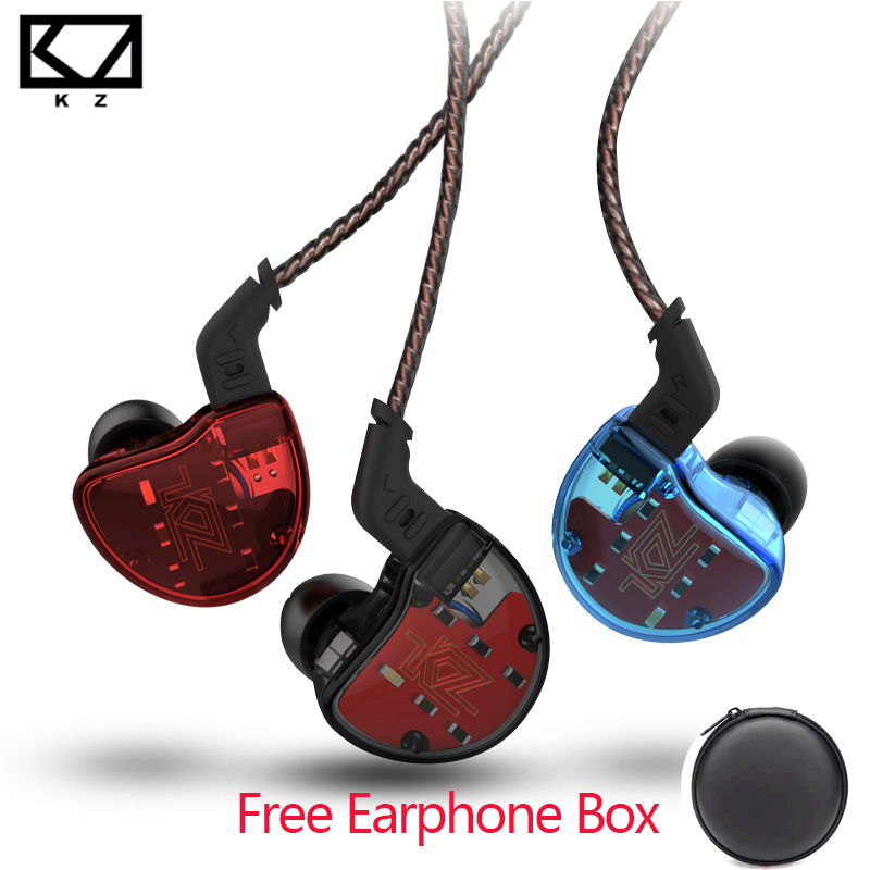 KZ ZS10 10 Driver In Ear Earphone Dynamic And Armature Earbuds HiFi high fidelity Bass Sport running Headset Music Lover AS10