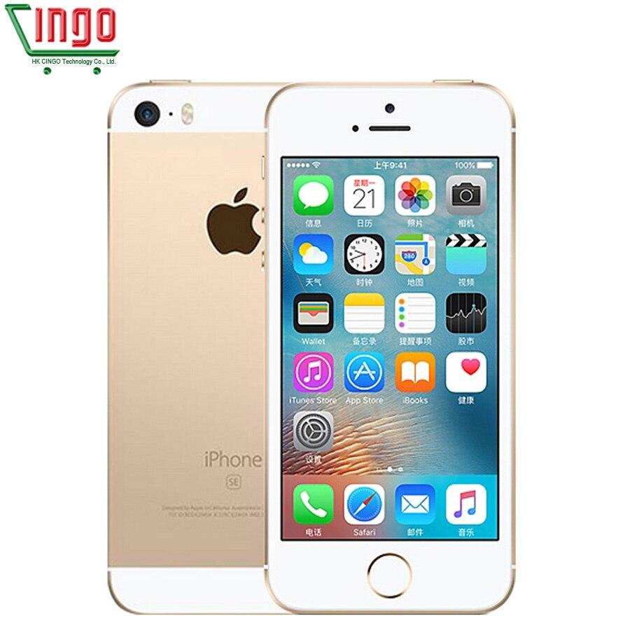 Фото. Оригинальное разблокирована Apple iPhone SE 4G LTE мобильный телефон 4,0 дюйм 2G Оперативная па