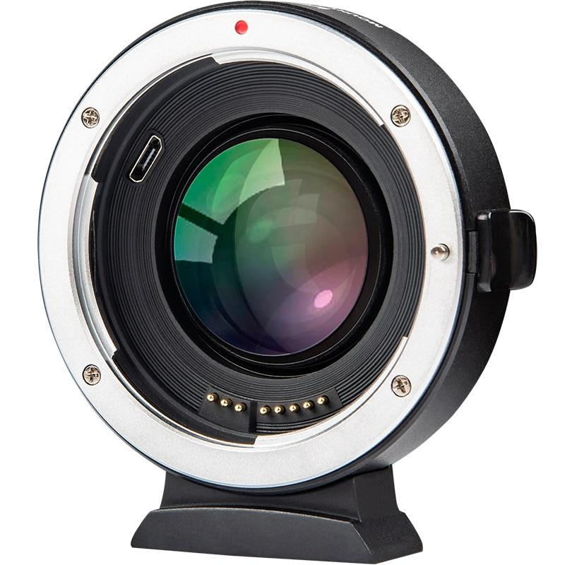 Viltrox EF-FX2 Mise Au Point Automatique adaptateur de lentille 0.71x Réducteur accélérateur de vitesse pour Canon EF Lens pour Fuji Caméra X-T3/T2 X-T20 X-T100 x-PRO2