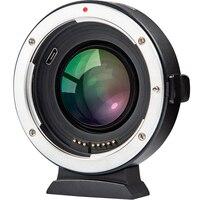 Viltrox EF FX2 автоматической фокусировки объектива адаптер 0.71x скоростной редуктор усилитель для объектива Canon EF для Fuji Камера X T3/T2 X T20 X T100 X PRO2