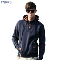 2017 New Spring Men Hoodie High Quality Thick Warm Velvet Fashion Design Hoodies Sweatshirts Men Casual