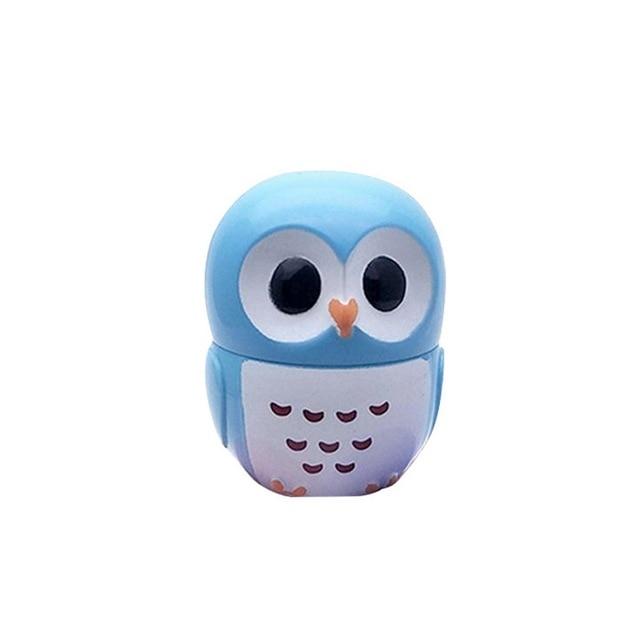 1 Pc Candy Color Owl Moisturizing Lip Balm Natural Plant Sphere Lip Gloss healthy Fruit Embellish Lipstick Makeup Tool 4