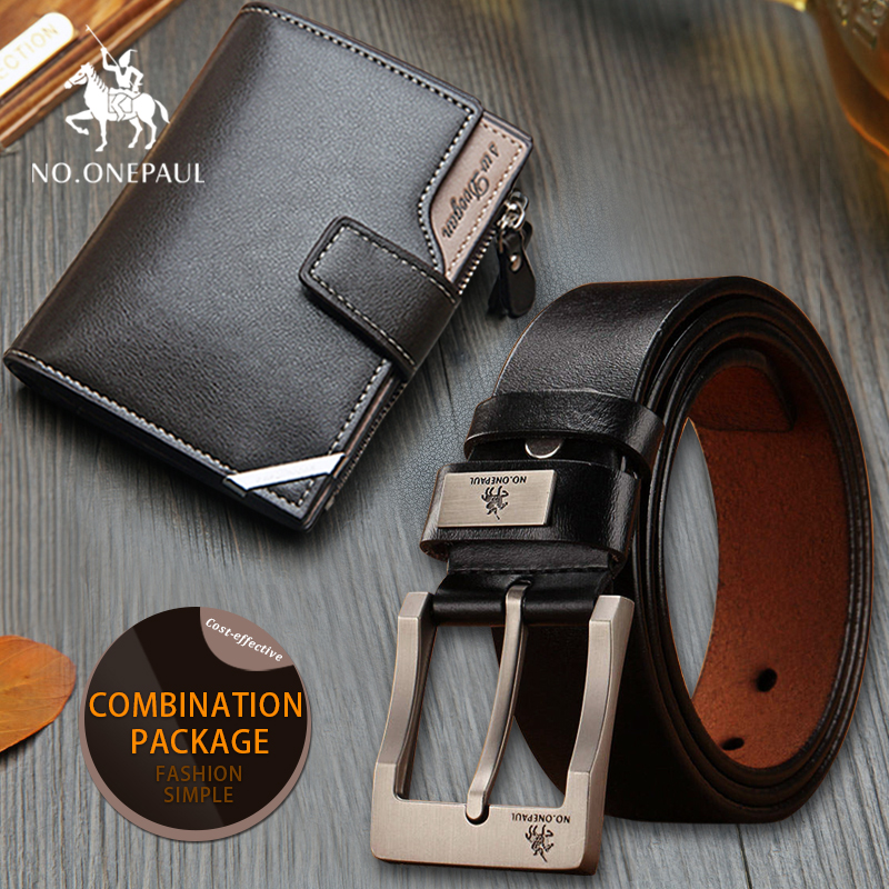 set/sets suit explosion models black buckle casual wildBrand New Fashion Genuine Men   Belt   High Quality Anti-rust Alloy Button