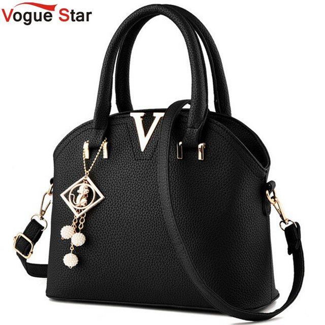 Vogue Star 2017 Brand Women Handbag European and American Fashion Messenger Bags Shell Shoulder Bag Woman Handbag LA120