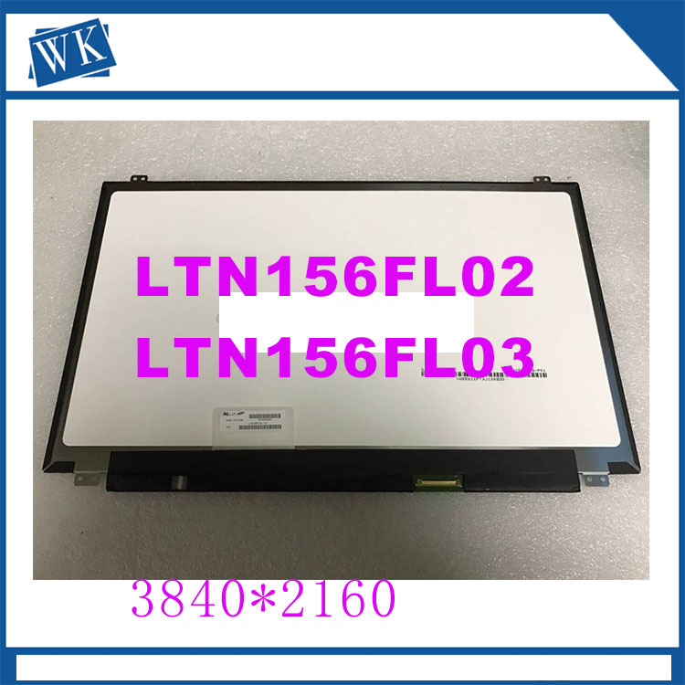 Free Shipping 15.6'' Laptop IPS Screen LP156UD1 SPB1 SPA1 LTN156FL02 LTN156FL06 LTN156FL03 LTN156FL02 3840x2160 UHD 4K Screen brand new 15 6 led lcd ecran d ordinateur portable 3840 2160 lp156ud1 lp156ud1 spb1 4 k affichage matrice pour a s u s zx50vw