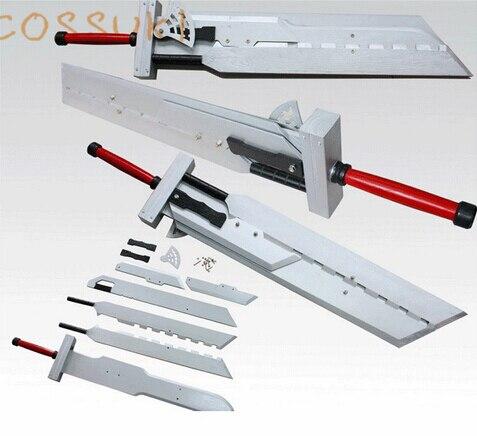 ファイナルファンタジー VII FF7 クラウド · ストライフ取り外し可能な小道具武器木製 110 センチメートルコスプレ小道具剣  グループ上の ノベルティ & 特殊用途 からの 衣装小道具 の中 1