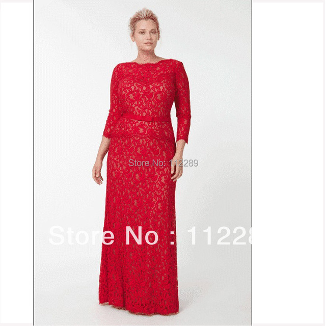 Robe mariee rouge grande taille