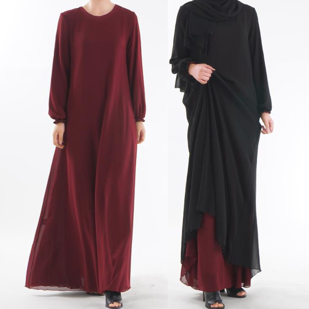 Islamic Clothing Muslim Dress Women Abaya Turkish Dubai Arabic Dress Woman Clothes Turkey Arabische Jurken Long Morrocan Dress image
