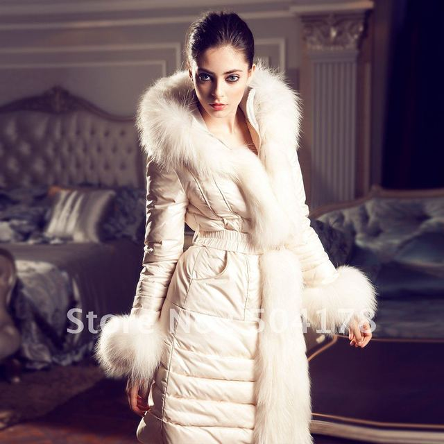 Luxury Ladies Fur Coat 100% Best Quality 2012 New Arrival Down ...