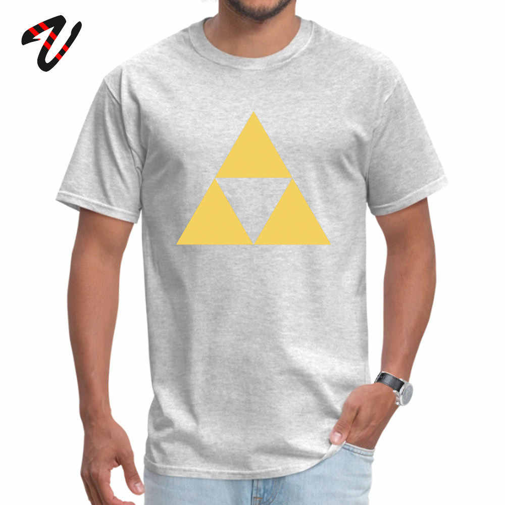 Gold Zelda triforce เสื้อยืดมอลตา Tshirt สำหรับผู้ชาย Khabib Nurmagomedov Tops & Tees ขายส่งฤดูร้อนฤดูใบไม้ร่วง T เสื้อสไตล์