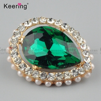 Beautiful Decorative Crystal Button For Ladies Clothing WBK-1465