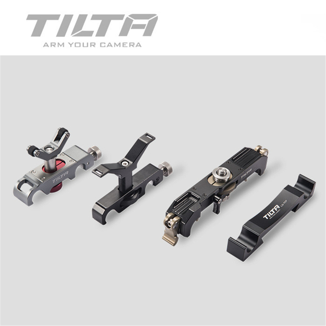 Tilta Soporte de lente de 15MM LS T03 LS T05 de lente Pro de 19MM, LS T08 de soporte para lente de zoom largo