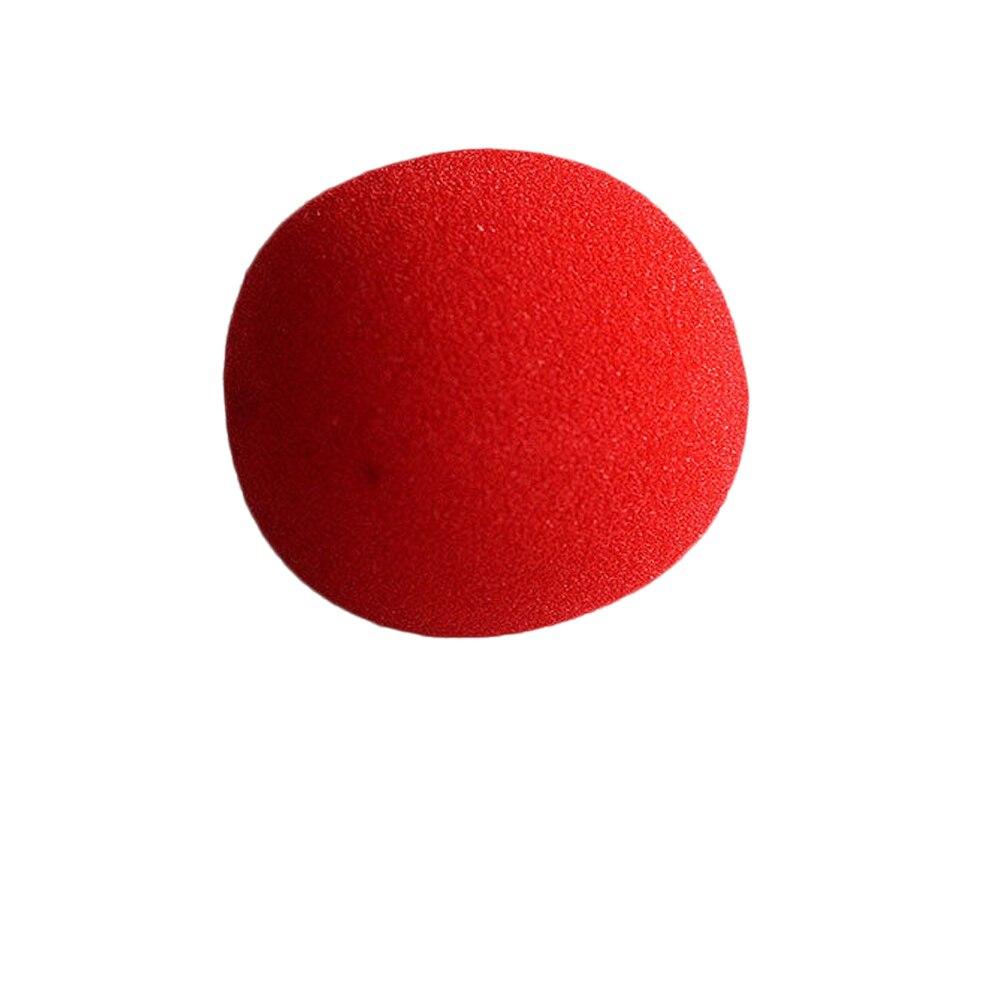 Высокое качество 4.5 см Новая мода крупным планом магия красный губка мяч бренд уличной Классическая комедии трюк игрушка