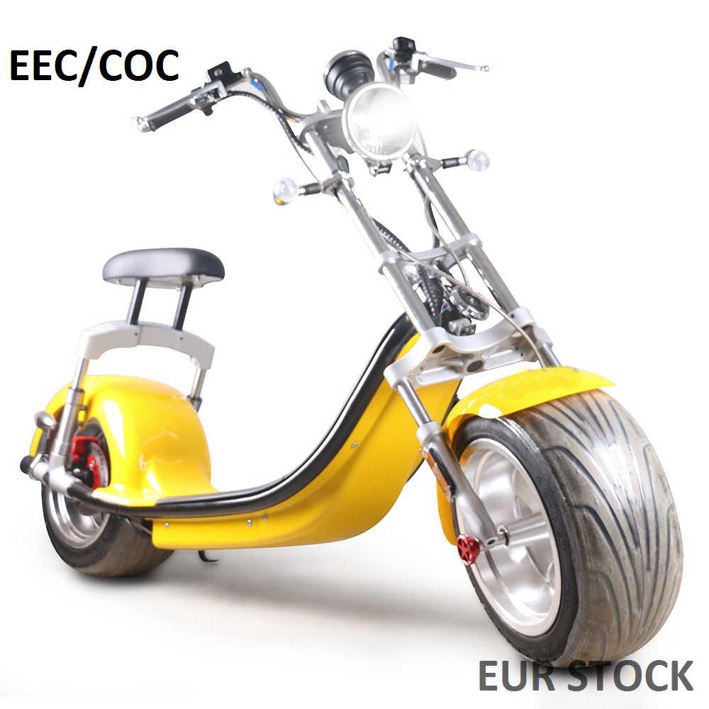 أوروبا الأسهم sc14 COC EEC مدينة كوكو للإزالة سكوتر كهربائي 800W Citycoco سكوتر كهربائي سكوتر كهربائي دراجة