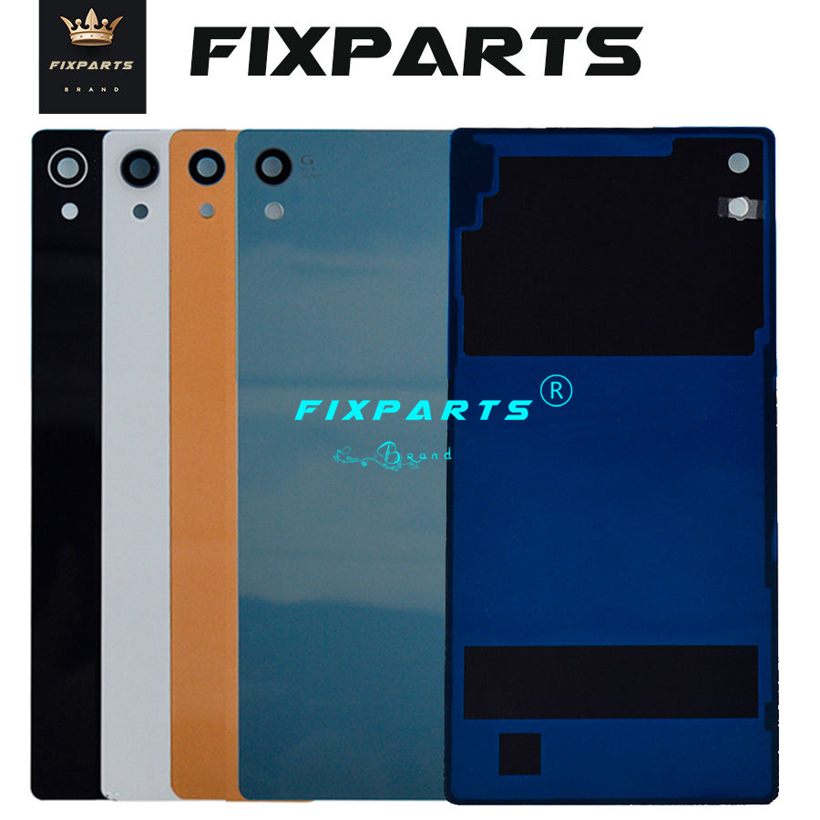 For SONY Xperia Z3 Plus Z4 Z5 Z5 Premium Back Battery Cover Rear Door Housing Case Replacement For SONY Xperia Z4 Battery Cover