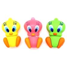 Cartoon Tweety Bird pen drive real capacity usb flash 4G 8G 16GB 32G 64GB cute animals memory stick creative gift pendrive