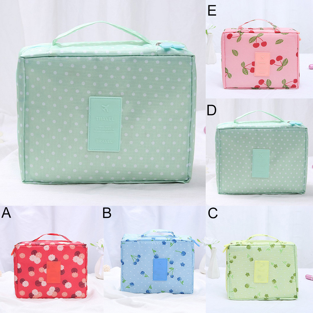 Makeup Storage Bag Travel Wash Bags Multi Functional Cosmetics Bag Multi Purpose Travel Storage Pouch Organizer Storage Box-in Storage Bags from Home & Garden