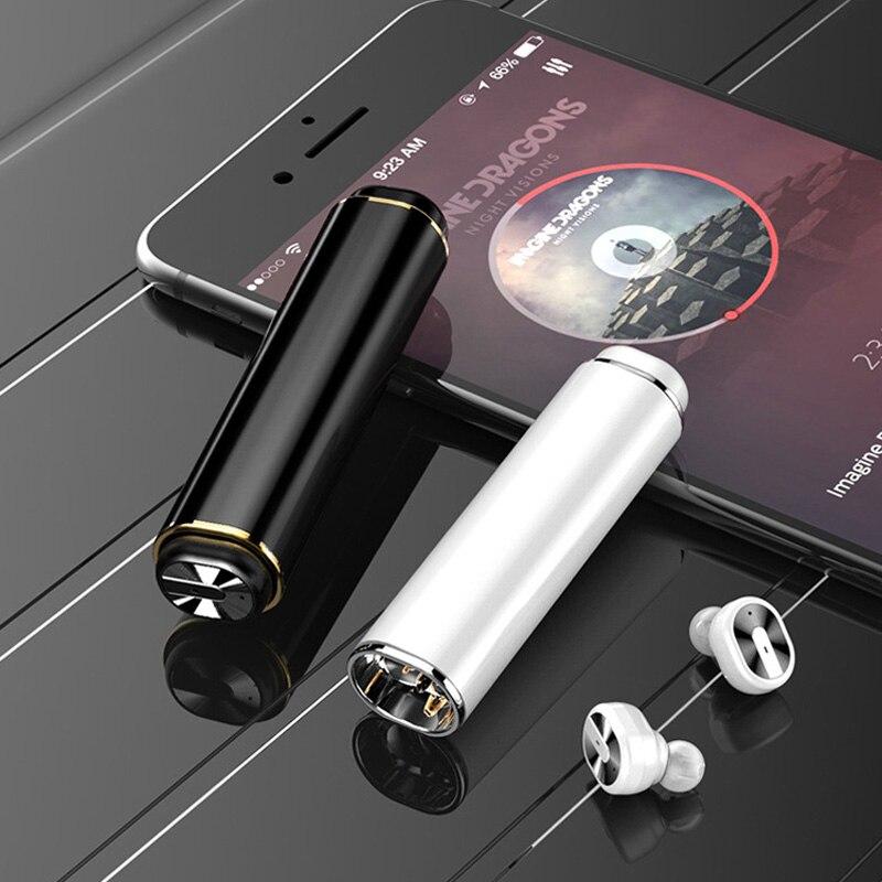 2018 nouveau Mini écouteur sans fil Bluetooth casque stéréo haute qualité sonore Mini écouteurs sans fil TWS HD Mic Bluetooth écouteurs - 6