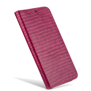 Image 2 - QIALINO for iphone 7 Genuine Leather Case for iphone 7 Plus Real Leather Luxury Women Crocodile Cover for 4.7/5.5 inches