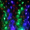 1.5M x1.5M 100 LED String Light Waterproof Net Mesh Fairy Lights Twinkle Outdoor Lighting Holiday Wedding Party Decoration 220V