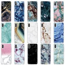 Luxury Marble Soft Phone Case for Coque Samsung