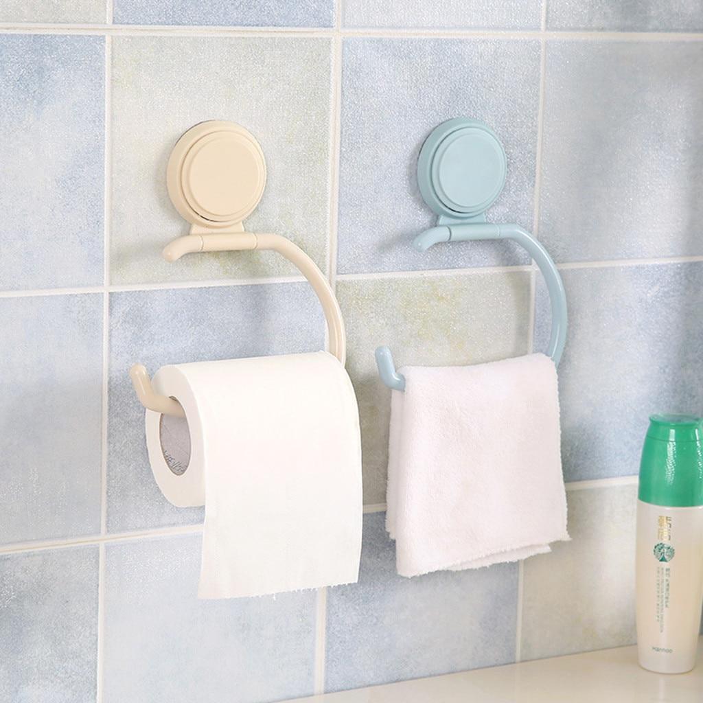 Kitchen Tissue Holder Hanging Bathroom Toilet Roll Paper Holder Towel Rack Kitchen Cabinet Door Hook Holder Organizer 1.572