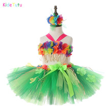 Ladies Beach Party Festa Hawaiana Costume Costume SINGOLO lei divertente Garland