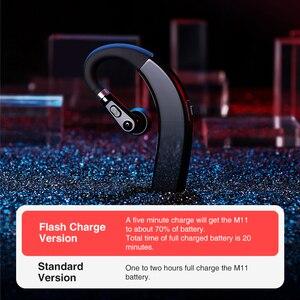 Image 2 - Sanlepus M11 Bluetooth Oortelefoon Draadloze Hoofdtelefoon Handsfree Oordopjes Headset Met Hd Microfoon Voor Telefoon Iphone Xiaomi Samsung