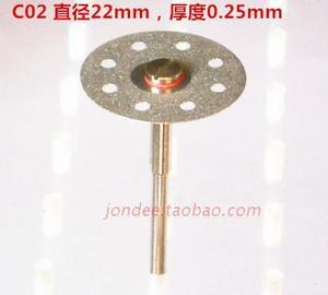 Image 3 - 12 pces dental ultra fino dupla face disco de corte de diamante para separar polimento cerâmica coroa gesso ou jade