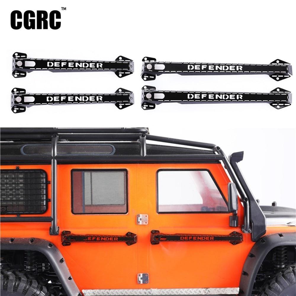 4* Metall Türgriffe Door Handle Ersatz Für 1//10 RC Crawler Traxxas TRX4 D90 D110