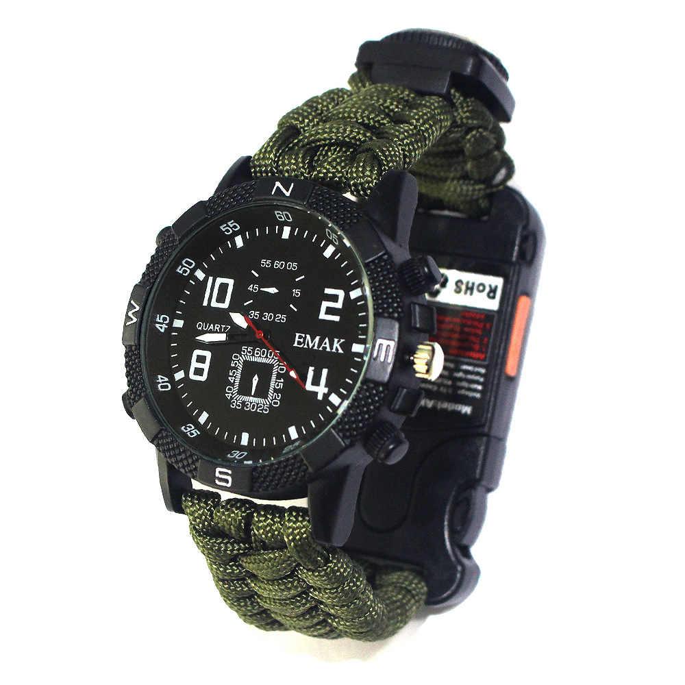 check out f90e1 abdf9 屋外キャンプサバイバル時計ツールキット充電式 2 キロメートル ...