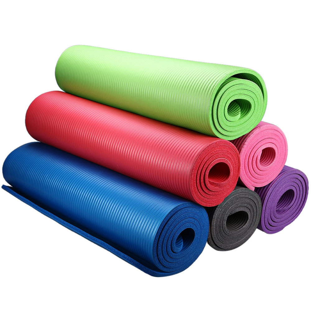 Free Shipping 183 x 61 x 1cm NBR Multifunction Anti-skid Yoga Mat Nonslip Gym Pilate Exercise Cushion