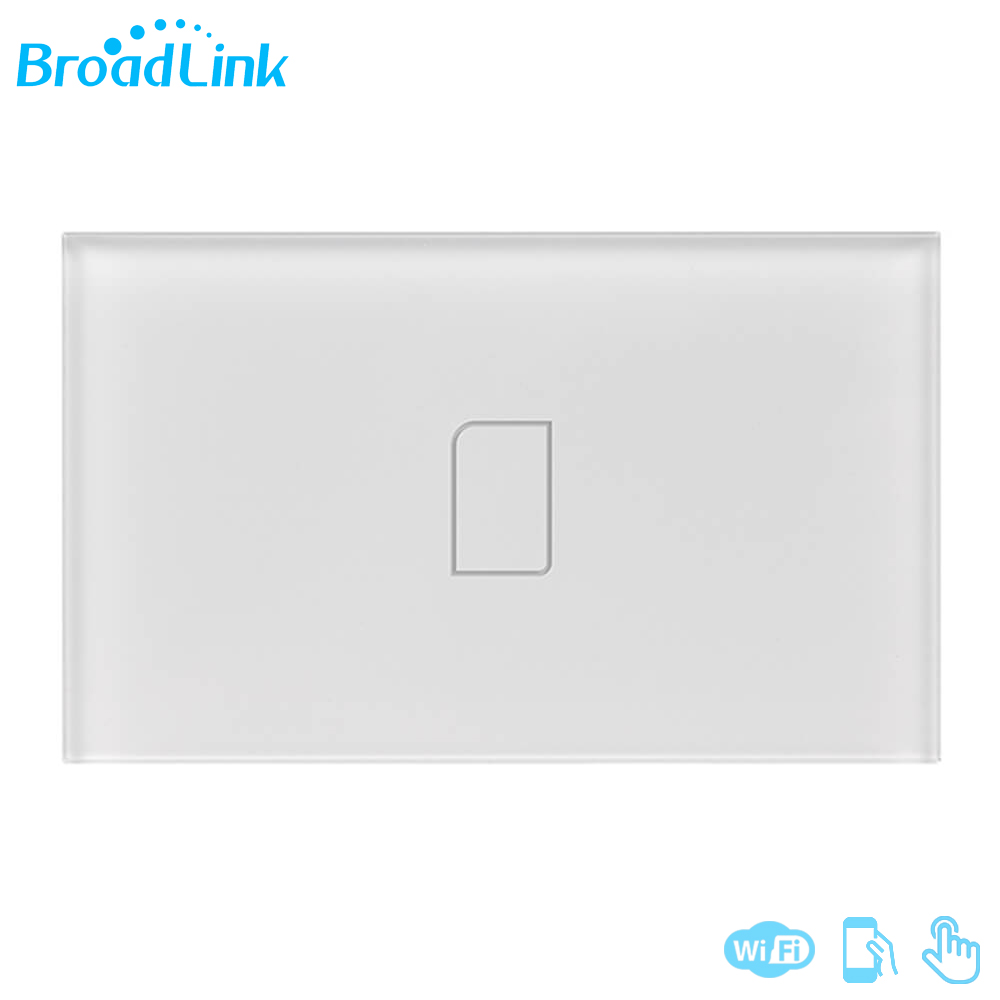 Original Broadlink TC2 3Gang 433MHZ Connection Wall Touch Panel Light Switch Remote font b Control b